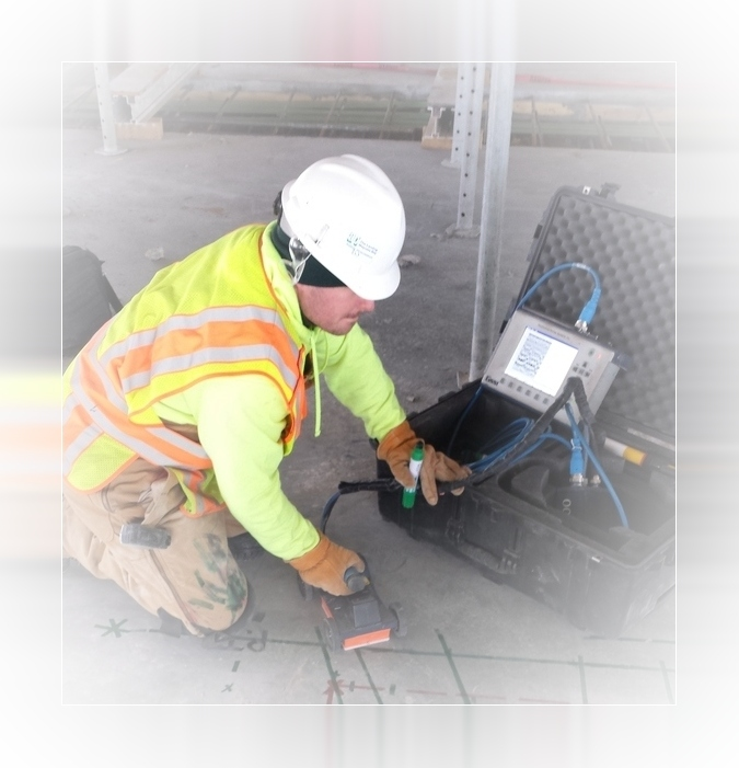 GPR Concrete Scanning